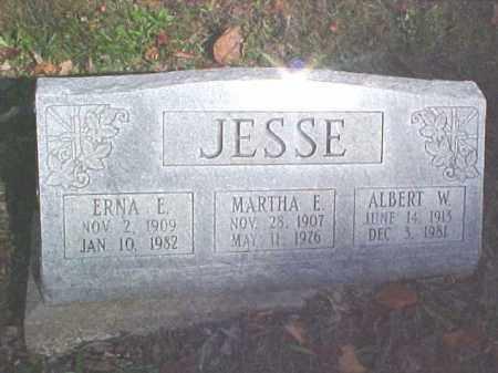 JESSE, MARTHA E. - Meigs County, Ohio | MARTHA E. JESSE - Ohio Gravestone Photos