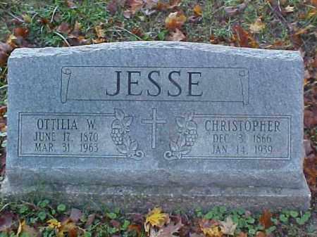 JESSE, OTTILIA W. - Meigs County, Ohio | OTTILIA W. JESSE - Ohio Gravestone Photos