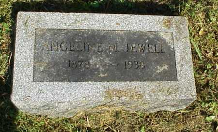 JEWELL, ANGELINE - Meigs County, Ohio | ANGELINE JEWELL - Ohio Gravestone Photos