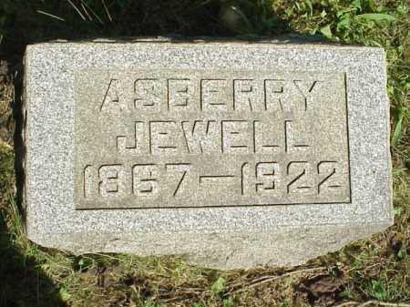 JEWELL, ASBERRY - Meigs County, Ohio   ASBERRY JEWELL - Ohio Gravestone Photos