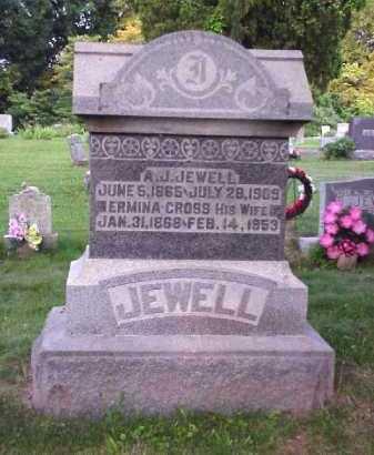 CROSS JEWELL, ERMINA - Meigs County, Ohio | ERMINA CROSS JEWELL - Ohio Gravestone Photos