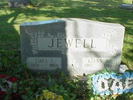 JEWELL, GLENN E. - Meigs County, Ohio | GLENN E. JEWELL - Ohio Gravestone Photos