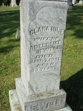 HILT JEWELL, CLARA - Meigs County, Ohio | CLARA HILT JEWELL - Ohio Gravestone Photos