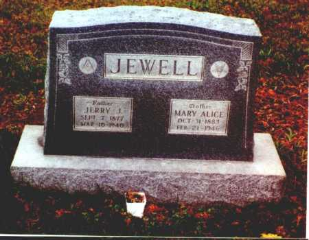 JEWELL, MARY ALICE - Meigs County, Ohio | MARY ALICE JEWELL - Ohio Gravestone Photos
