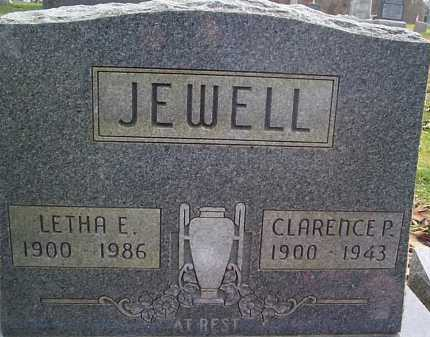 STEINMETZ JEWELL, LETHA - Meigs County, Ohio   LETHA STEINMETZ JEWELL - Ohio Gravestone Photos