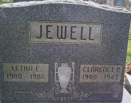 JEWELL, LETHA - Meigs County, Ohio | LETHA JEWELL - Ohio Gravestone Photos