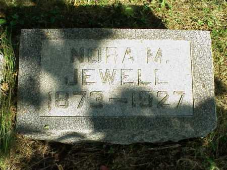 BECKNER JEWELL, NORA M. - Meigs County, Ohio | NORA M. BECKNER JEWELL - Ohio Gravestone Photos