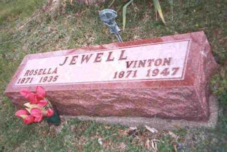 WOOD JEWELL, ROSELLA - Meigs County, Ohio | ROSELLA WOOD JEWELL - Ohio Gravestone Photos