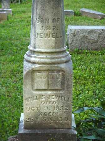 JEWELL, WILLIS - Meigs County, Ohio | WILLIS JEWELL - Ohio Gravestone Photos