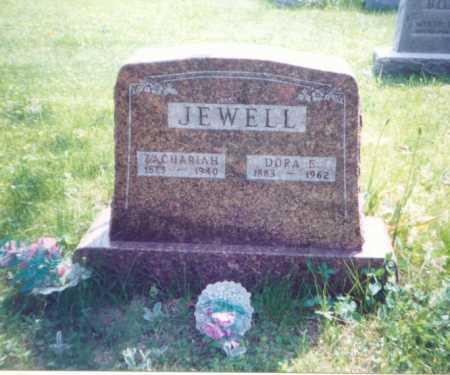 GRAHAM JEWELL, DORA E. - Meigs County, Ohio   DORA E. GRAHAM JEWELL - Ohio Gravestone Photos