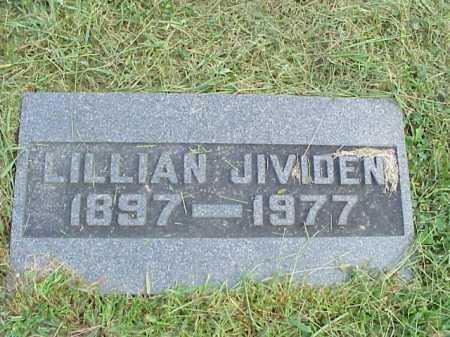 JIVIDEN, LILLIAN - Meigs County, Ohio | LILLIAN JIVIDEN - Ohio Gravestone Photos