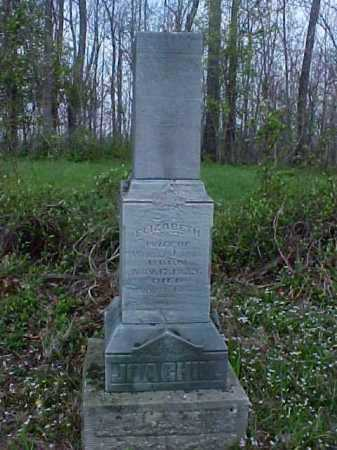 LAUBNER JOACHIM, ELIZABETH - Meigs County, Ohio | ELIZABETH LAUBNER JOACHIM - Ohio Gravestone Photos