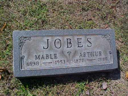 JOBES, MABLE - Meigs County, Ohio   MABLE JOBES - Ohio Gravestone Photos