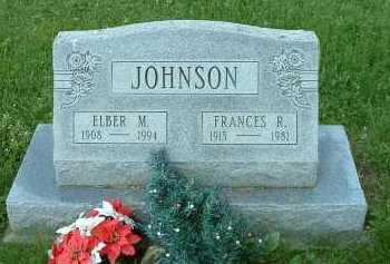 JOHNSON, ELBER - Meigs County, Ohio | ELBER JOHNSON - Ohio Gravestone Photos