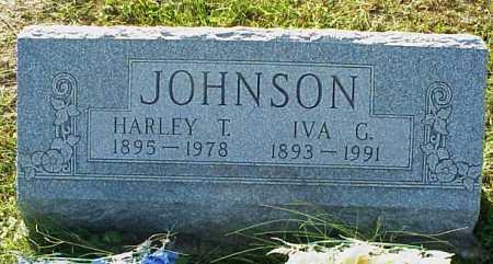 JOHNSON, IVA G. - Meigs County, Ohio   IVA G. JOHNSON - Ohio Gravestone Photos