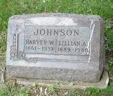 JOHNSON, HARVEY W. - Meigs County, Ohio | HARVEY W. JOHNSON - Ohio Gravestone Photos