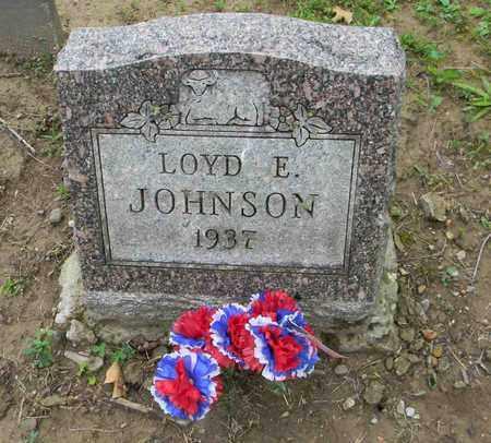 JOHNSON, LOYD E. - Meigs County, Ohio   LOYD E. JOHNSON - Ohio Gravestone Photos