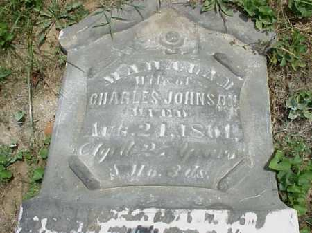 JOHNSON, MAHALA M. - Meigs County, Ohio | MAHALA M. JOHNSON - Ohio Gravestone Photos
