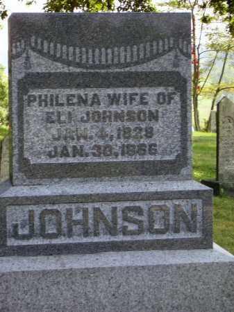 JOHNSON, PHILENA - Meigs County, Ohio   PHILENA JOHNSON - Ohio Gravestone Photos