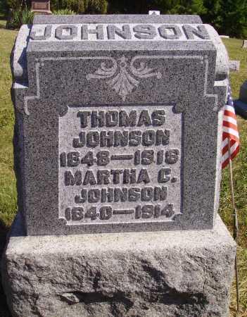 JOHNSON, MARTHA C. - Meigs County, Ohio | MARTHA C. JOHNSON - Ohio Gravestone Photos