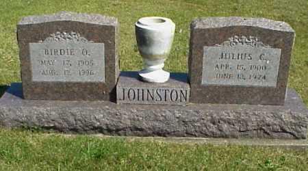 JOHNSTON, BIRDIE O. [OMA] - Meigs County, Ohio | BIRDIE O. [OMA] JOHNSTON - Ohio Gravestone Photos