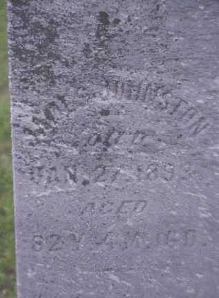 JOHNSTON, JAMES - Meigs County, Ohio | JAMES JOHNSTON - Ohio Gravestone Photos