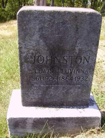 KNAPP JOHNSTON, LUVINNA - Meigs County, Ohio | LUVINNA KNAPP JOHNSTON - Ohio Gravestone Photos