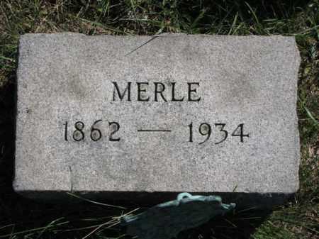 JOHNSTON, MERLE - Meigs County, Ohio | MERLE JOHNSTON - Ohio Gravestone Photos