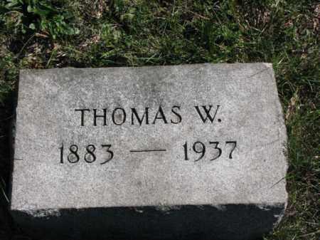 JOHNSTON, THOMAS W. - Meigs County, Ohio   THOMAS W. JOHNSTON - Ohio Gravestone Photos