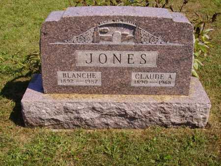 JONES, CLAUDE A. - Meigs County, Ohio | CLAUDE A. JONES - Ohio Gravestone Photos