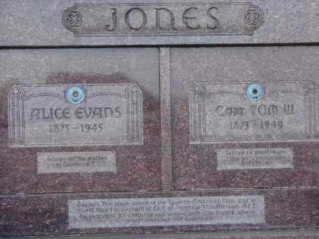 EVANS JONES, ALICE - Meigs County, Ohio | ALICE EVANS JONES - Ohio Gravestone Photos