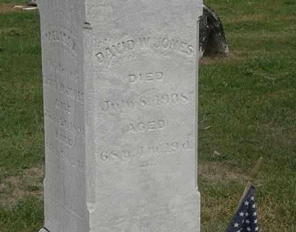 JONES, DAVID W. - Meigs County, Ohio | DAVID W. JONES - Ohio Gravestone Photos