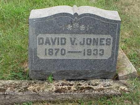 JONES, DAVID V. - Meigs County, Ohio | DAVID V. JONES - Ohio Gravestone Photos