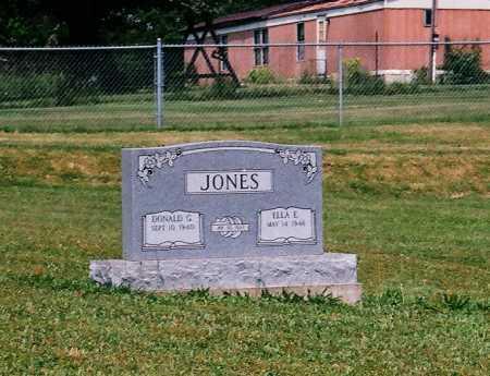 JONES, ELLA E. - Meigs County, Ohio | ELLA E. JONES - Ohio Gravestone Photos