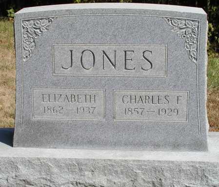 JONES, CHARLES F. - Meigs County, Ohio | CHARLES F. JONES - Ohio Gravestone Photos