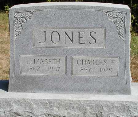 JONES, ELIZABETH - Meigs County, Ohio | ELIZABETH JONES - Ohio Gravestone Photos
