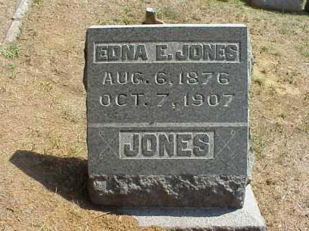 JONES, EDNA A. - Meigs County, Ohio | EDNA A. JONES - Ohio Gravestone Photos
