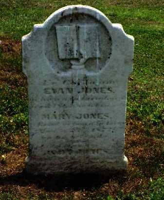 JONES, MARY - Meigs County, Ohio | MARY JONES - Ohio Gravestone Photos