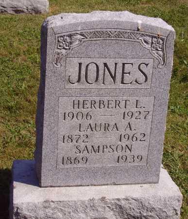 JONES, SAMPSON - Meigs County, Ohio | SAMPSON JONES - Ohio Gravestone Photos