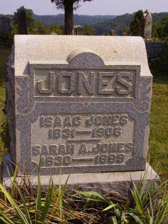 JONES, SARAH A. - Meigs County, Ohio | SARAH A. JONES - Ohio Gravestone Photos