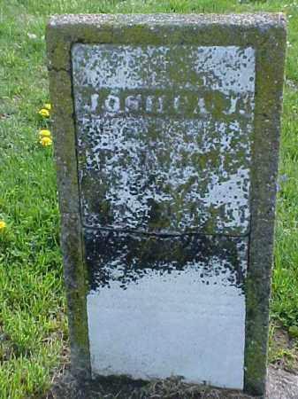 JONES, JOSH?A J. - Meigs County, Ohio   JOSH?A J. JONES - Ohio Gravestone Photos