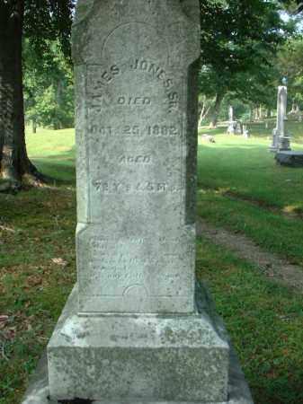 JONES, JAMES SR. - Meigs County, Ohio   JAMES SR. JONES - Ohio Gravestone Photos