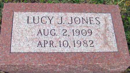 JONES, LUCY J. - Meigs County, Ohio | LUCY J. JONES - Ohio Gravestone Photos