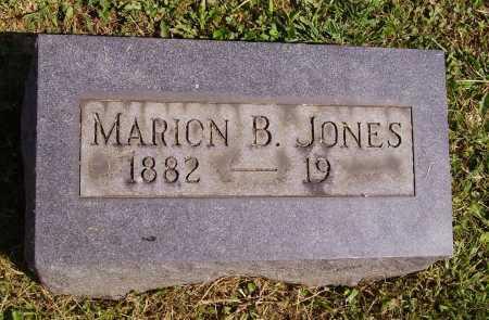 JONES, MARION B. - Meigs County, Ohio | MARION B. JONES - Ohio Gravestone Photos