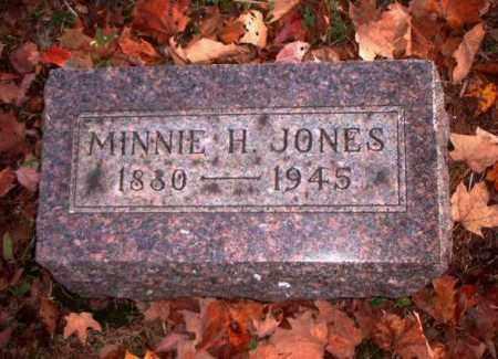 JONES, MINNIE H. - Meigs County, Ohio | MINNIE H. JONES - Ohio Gravestone Photos