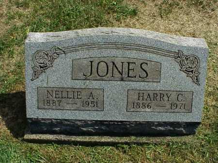 BAXTER JONES, NELLIE A. - Meigs County, Ohio | NELLIE A. BAXTER JONES - Ohio Gravestone Photos