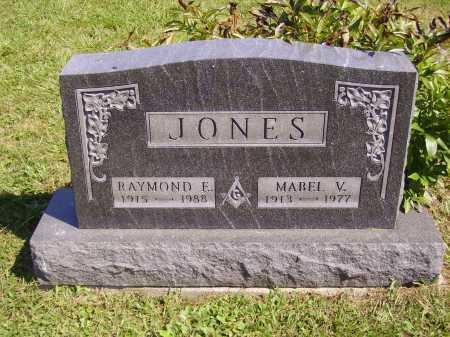 JONES, MABEL V. - Meigs County, Ohio | MABEL V. JONES - Ohio Gravestone Photos
