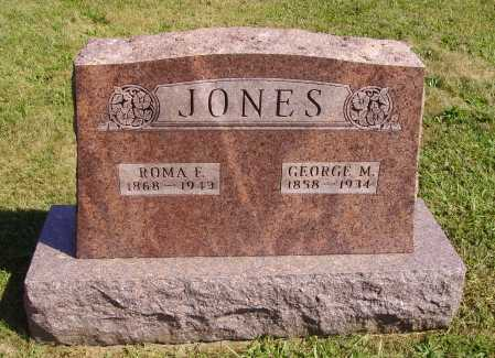 JONES, GEORGE MARION - Meigs County, Ohio | GEORGE MARION JONES - Ohio Gravestone Photos