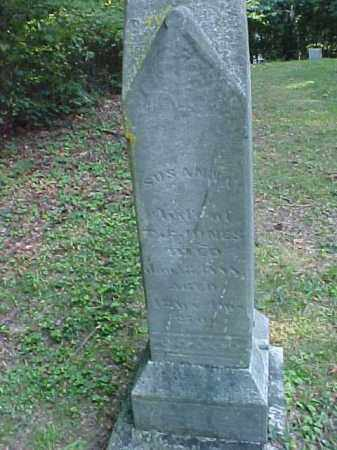 JONES, SUSANNA - Meigs County, Ohio | SUSANNA JONES - Ohio Gravestone Photos