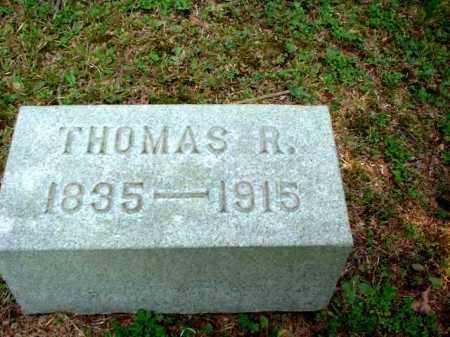 JONES, THOMAS RICHARD - Meigs County, Ohio | THOMAS RICHARD JONES - Ohio Gravestone Photos